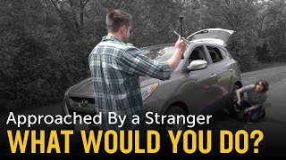 Download Stranded on the Road Self Defense Scenario: What Would You Do? Video