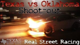 Download STREET RACING! COPS! DRAMA! Texas vs Oklahoma Shoot out on TEXAS STREETS!! (Watch in HD) Video