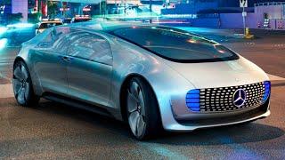 Download Mercedes F 015 Drives Itself To CES Las Vegas Mercedes Self Driving Car Commercial CARJAM TV 4K 2016 Video