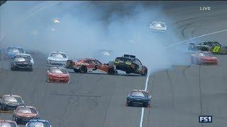 Download NASCAR Xfinity Series 2017. Michigan International Speedway. Multiple Crash Video