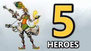 Download Top 5 New Hero Concepts (Overwatch) Video