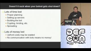 Download DEFCON 18: Resilient Botnet Command and Control with Tor 1/3 Video