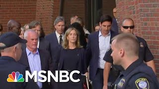 Download Felicity Huffman Gets 14 Day Sentence In College Admissions Scandal Case | Hardball | MSNBC Video