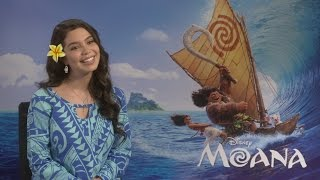 Download MOANA: Auli'i Cravalho not afraid of film being measured up against Frozen Video