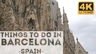 Download Things to do in Barcelona Attractions in 4k Video