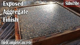 Download How to get a Exposed Aggregate Finish on Concrete Video