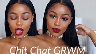 Download CHIT CHAT: GRWM | feeling worthless, HIV awareness! refocusing Video