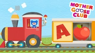 Download Alphabet Train Food Train - Mother Goose Club Rhymes for Kids Video