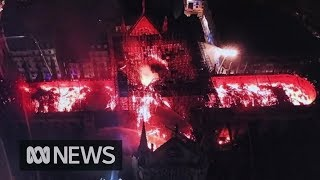 Download Notre Dame fire: France will rebuild historic cathedral, says President Macron | ABC News Video
