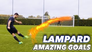Download FRANK LAMPARD + THE F2 | EPIC SHOOTING SESSION! AMAZING GOALS! Video
