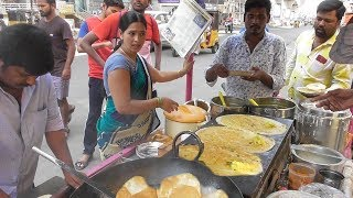 Download Hyderabadi Couple & Their Team Selling Butter Masala Dosa @ 20 rs Only Video