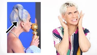 Download We need to talk about Lady Gagas hair at the Golden Globes... Video
