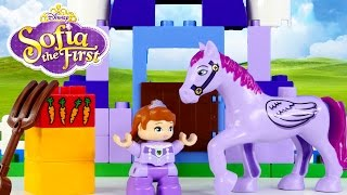 Download Disney Princess Sofia The First Duplo Royal Stable Lego Toys Episodios Princesa Legos DCTC Video