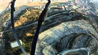 Download Navy Seals drop into Dodger Stadium Video