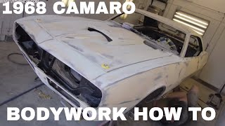 Download 1968 Camaro ″Reloaded″ Body Filler, Spray Polyester, and Body Work Video V8TV Video