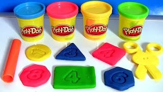 Download Play Doh Chalkboard Back To School Playset Learn Shapes & Numbers 123 with PlayDough 2015 Video