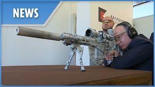Download Putin fires new Kalashnikov SVCh-308 sniper rifle prototype Video