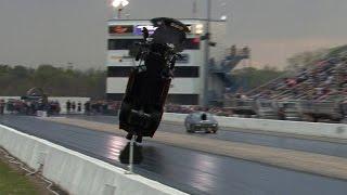 Download 4000hp CORVETTE TAKES FLIGHT !!! Tulsa Raceway Park Video
