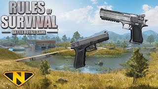 Download PISTOL ONLY CHALLENGE! (Rules of Survival: Battle Royale) Video