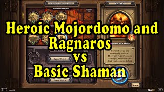 Download Hearthstone: Blackrock Mountain - Heroic Majordomo Executus/Ragnaros with a basic Shaman! Video