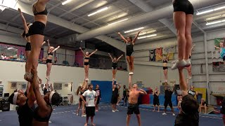 Download Cheer Extreme Beach Camp 2016 Part 1 Kernersville Raleigh Video