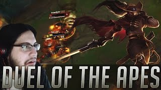 Download Yassuo vs Imaqtpie | Duel of the Apes Video