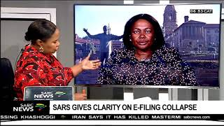 Download SARS gives clarity on e-filing collapse Video