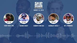 Download UNDISPUTED Audio Podcast (8.13.18) with Skip Bayless, Shannon Sharpe & Jenny Taft | UNDISPUTED Video