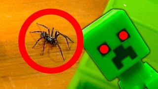 Download Nasty Spider In The Minecraft Toys Nerf Gun Spider Strike Video