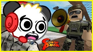 Download Roblox SENT TO BOOT CAMP Army Training Obby Let's Play with Combo Panda Video