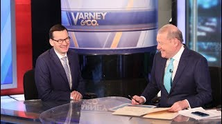 Download Mateusz Morawiecki during the interview for Fox Business Video