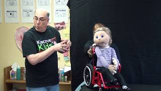 Download Puppets with disabilities teach kids to be kind to each other Video