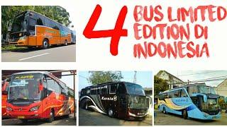 Download INI DIA!! 4 BUS ″LANGKA″ DAN ″LIMITED EDITION″ DI INDONESIA! Video