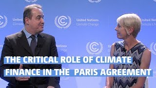 Download The critical role of climate finance in the Paris Agreement Video