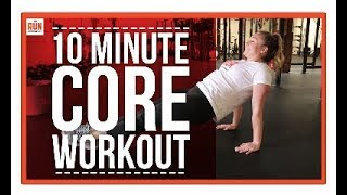 Download 10 Minute Core Workout For Runners! Video
