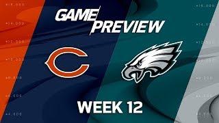 Download Chicago Bears vs. Philadelphia Eagles | NFL Week 12 Game Preview | NFL Playbook Video