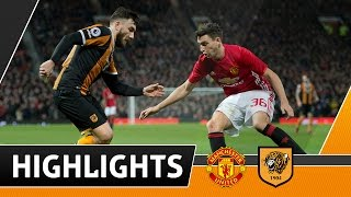 Download Manchester United 2 The Tigers 0 EFL Cup Semi Final 1st Leg | Highlights | 10.01.17 Video