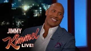 Download Dwayne Johnson Relives His Criminal Past Video