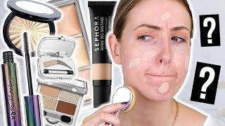 Download What's NEW at the DRUGSTORE & SEPHORA: Full Face FIRST IMPRESSIONS! || Fall 2017 Video