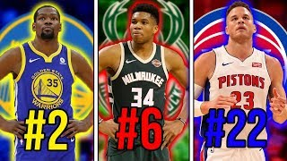 Download Ranking The BEST Player From Every NBA Team Video