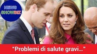 """Download """"Problemi di salute gravi…"""" William lo confessa, Kate Middleton trema Video"""
