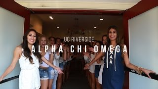 Download UC Riverside // Alpha Chi Omega // Fall Recruitment 2016 Video