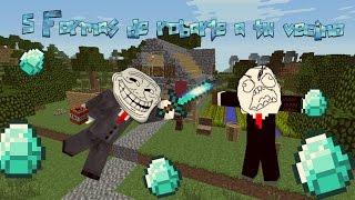 Download 5 Formas de robar a tu vecino en Minecraft Video