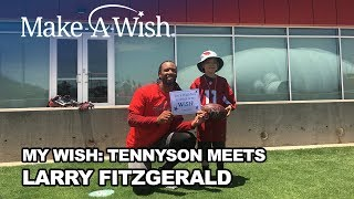 Download My Wish: Tennyson Meets Larry Fitzgerald (Trailer) Video