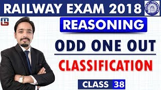 Download Odd One Out | Classification | Class - 38 | Reasoning | RRB | Railway ALP / Group D | 8 PM Video