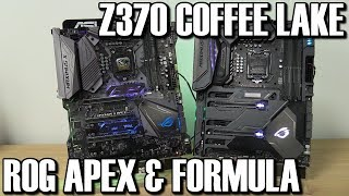 Download Asus ROG Maximus Z370 Apex & Formula Coffee Lake Preview Video