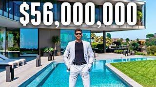 Download INSIDE a $56 Million Bel Air MEGA MANSION Video
