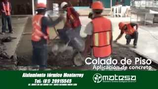 Download Instalación de aislamiento de piso para congelación en Monterrey Video