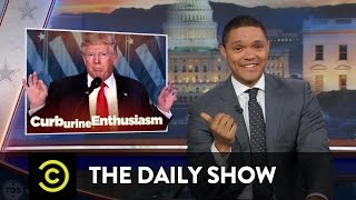 Download Obama Says Goodbye & Trump (Allegedly) Gets a ″Golden Shower″: The Daily Show Video