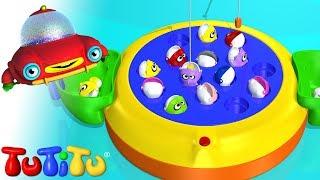 Download TuTiTu Toys | Let's Go Fishin' | Fishing Game for Children Video